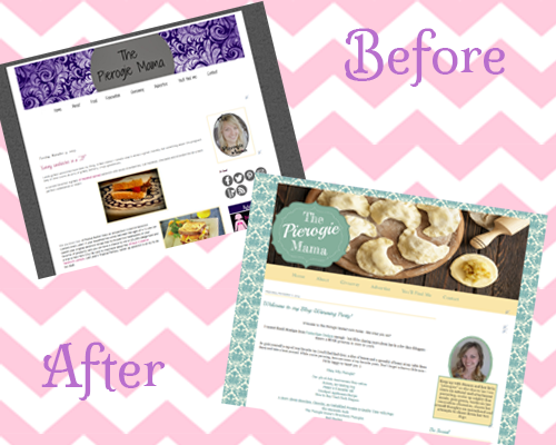 The Pierogie Mama's Makeover and A Giveaway