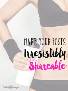 Does your website have all of these to ensure your blog posts get shared like wildfire? How to make your post irresistibly shareable you need #1, which I'm surprised people have not tested out their own site before