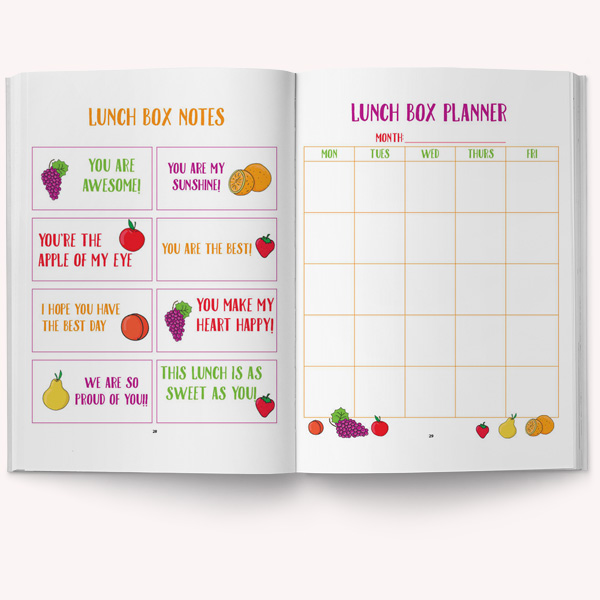 healthy snack printable