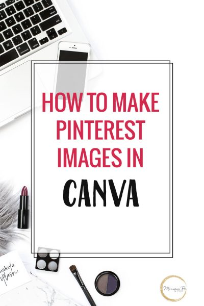 You just want to write your blog posts but how will you promote it, figure out how to make Pinterest images in Canva, a free online tool to create gorgeous graphics.