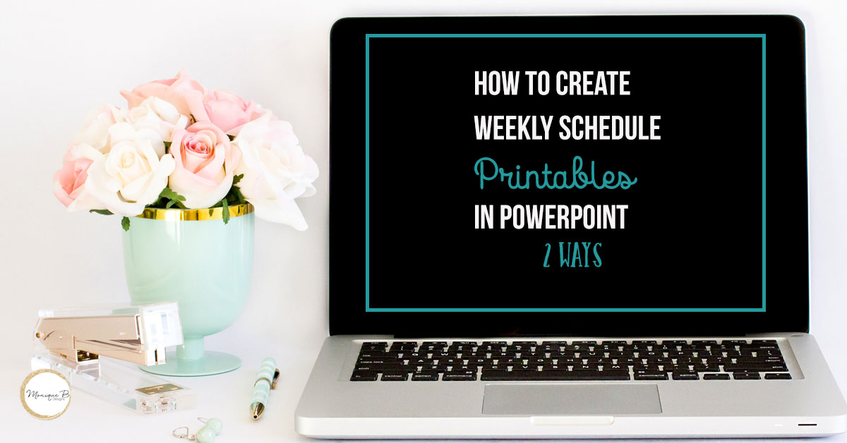 How to Create a Simple Printable in PowerPoint 2 Ways