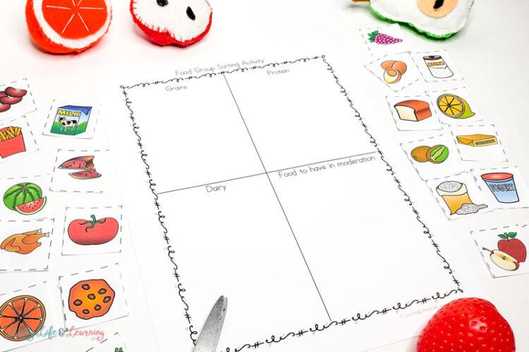 Healthy food group worksheets-8
